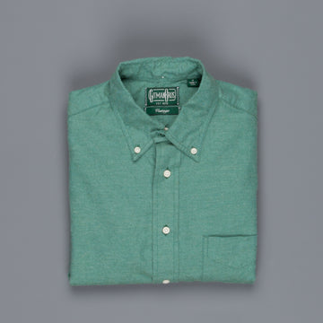 Gitman Vintage Button Down Shirt Flannel green