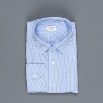 Glanshirt Kurt Light Blue Vichy