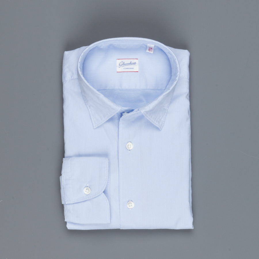 Glanshirt Kurt Light Blue Hairline