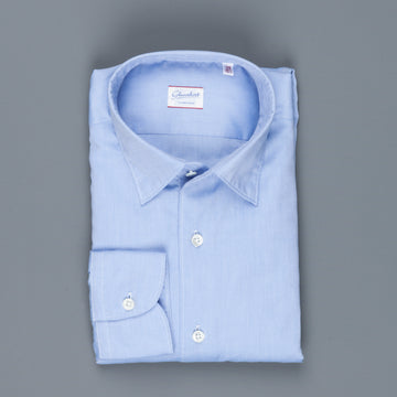 Glanshirt Kurt soft washed oxford blue