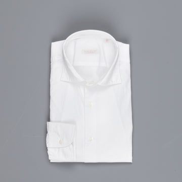 Glanshirt Kurt Washed Poplin White