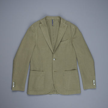 Montedoro Jacket Cotton Ramie Oliva