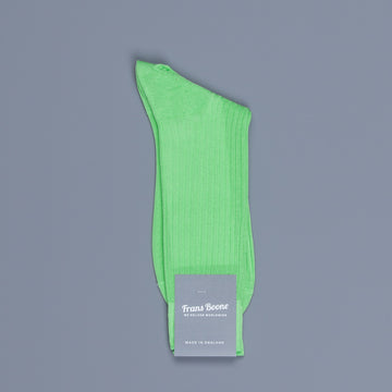 Frans Boone X Pantherella Socks 100% Fil d'Ecosse / Cotton lisle Bright lime