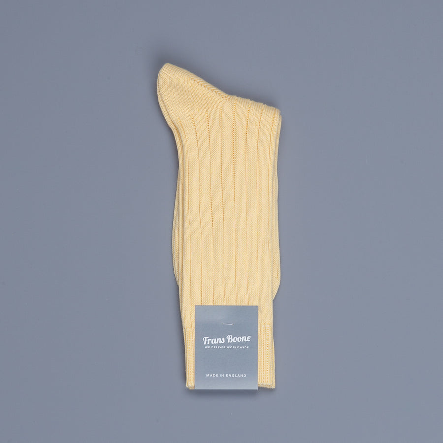 Frans Boone x Pantherella  Raynor socks Chamois