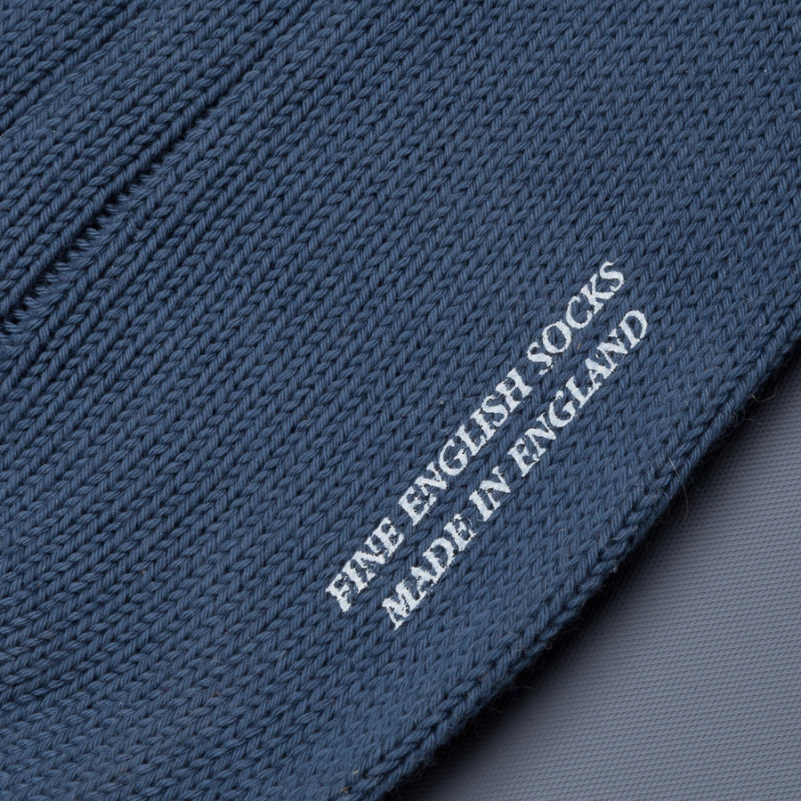Frans Boone x Pantherella Raynor socks Slate Blue
