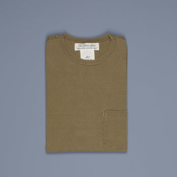 Remi Relief 16G Heavy Cotton Pocket Tee Green