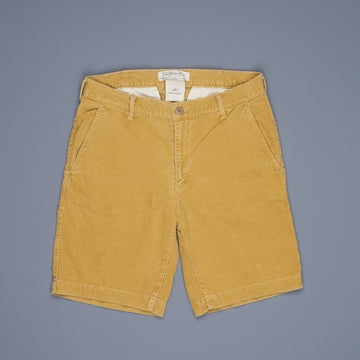 Remi Relief Corduroy Short Yellow