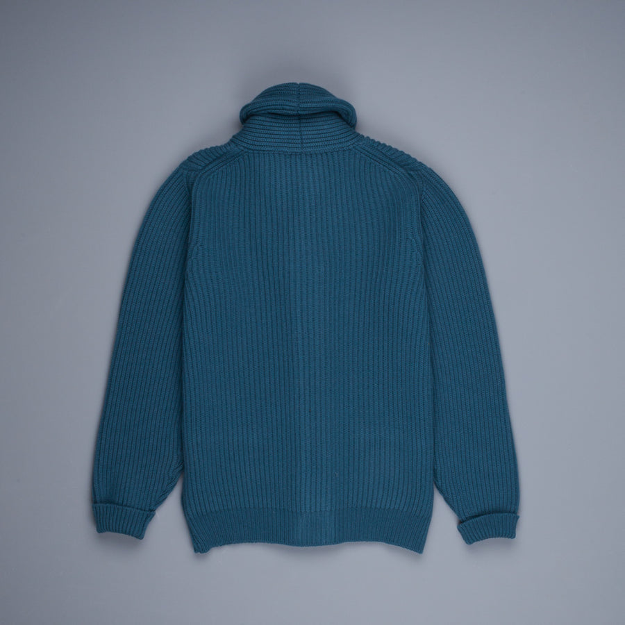 William Lockie x Frans Boone Cardigan Steve, Teal