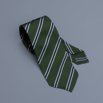 Drakes super repp Regimental tie Oxford and Cambridge Golf