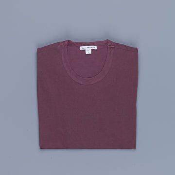James Perse Crew Neck Tee Aubergine