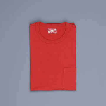 The Real Mc Coy's  Pocket Tee Red