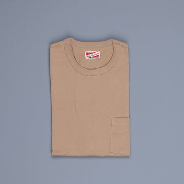 The Real Mc Coy's  Pocket Tee Chestnut