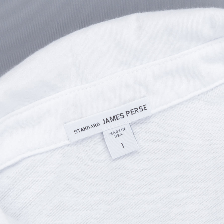 James Perse Dry Touch Jersey Polo White