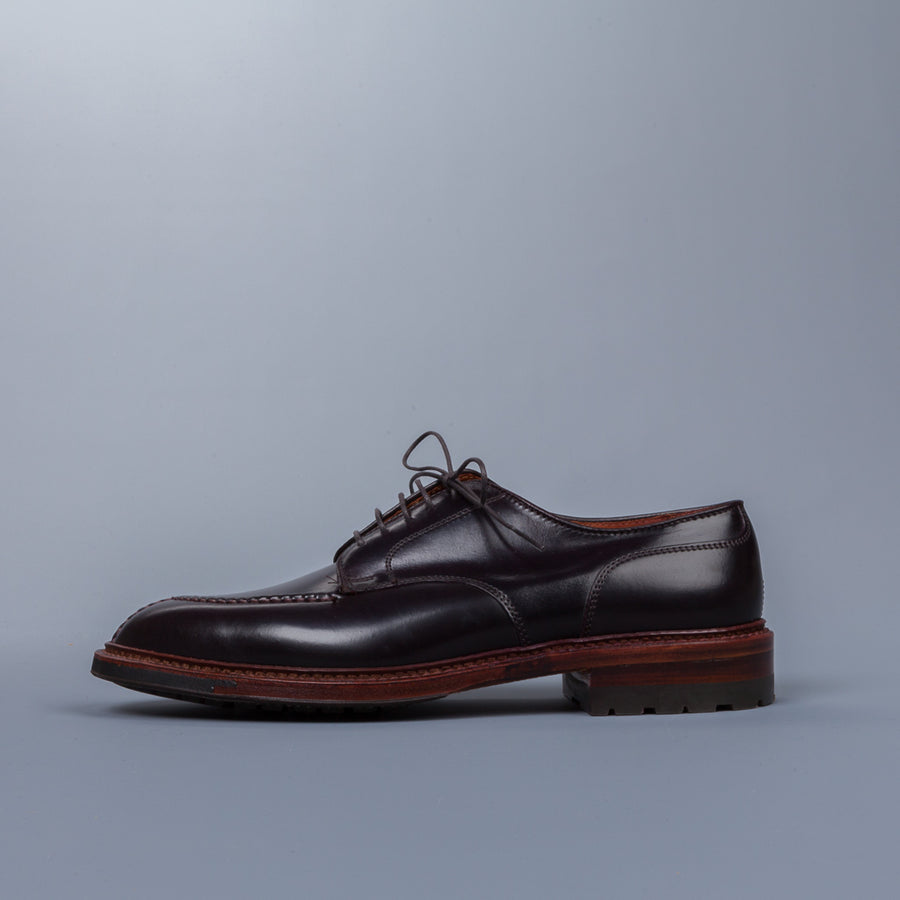 Alden Norwegian Split Toe Blucher on Commando Sole #8 cordovan