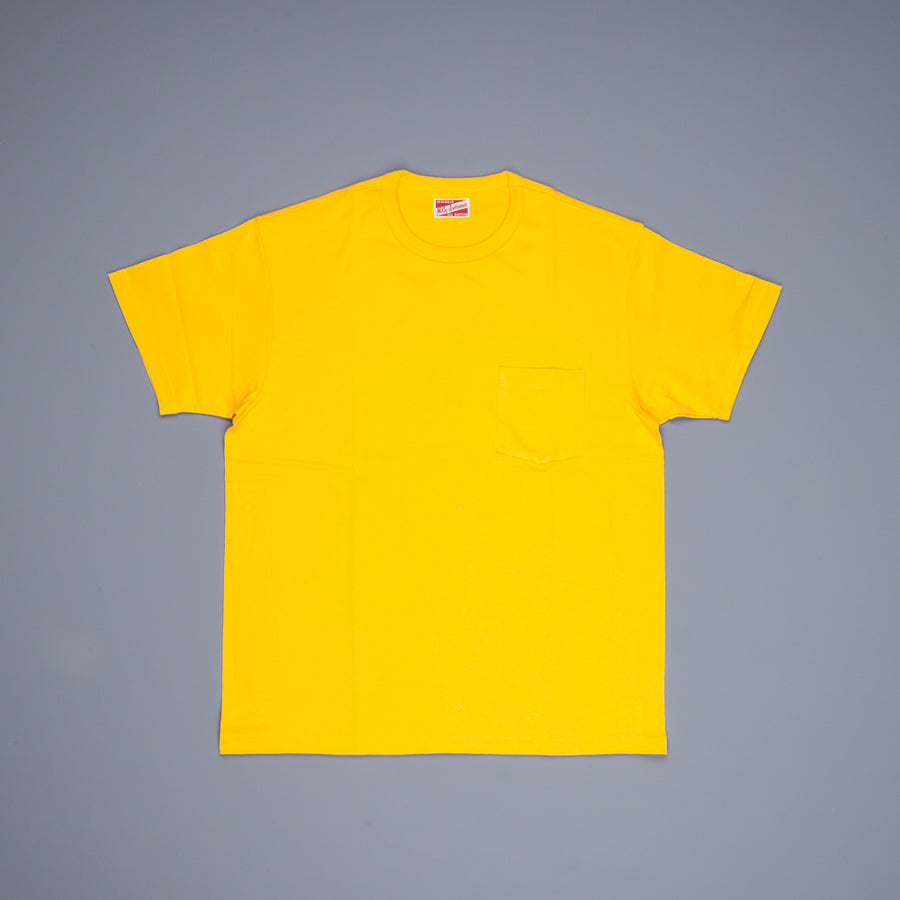 The Real Mc Coy's  Pocket Tee Yellow