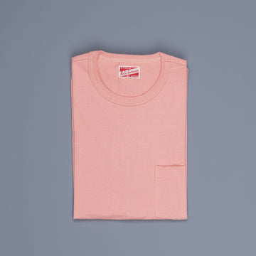The Real Mc Coy's  Pocket Tee Coral
