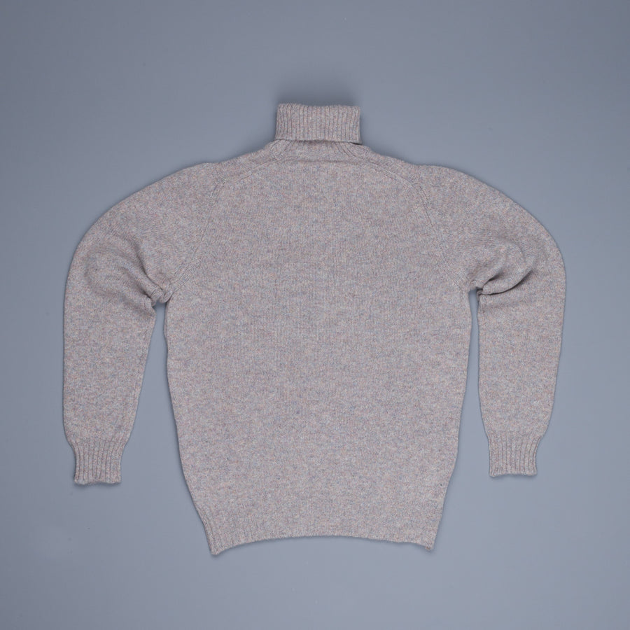 William Lockie Gullan Super Geelong Roll Neck Marble