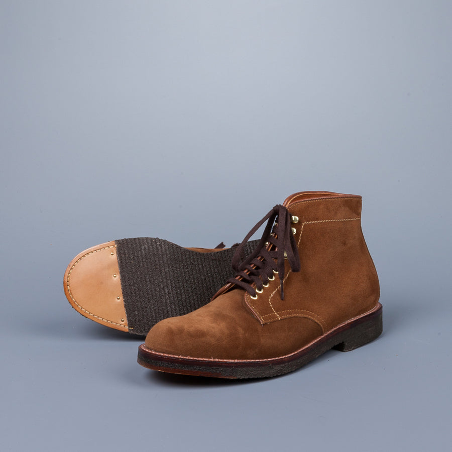 Alden x Frans Boone 405 Boot in Snuff Suede