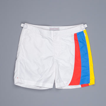Orlebar Brown Swimshort Bulldog Racer Prost white