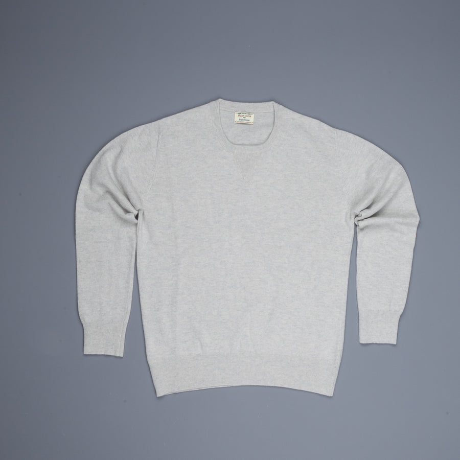 William Lockie x Frans Boone Super Geelong Vintage fit sweater Argent