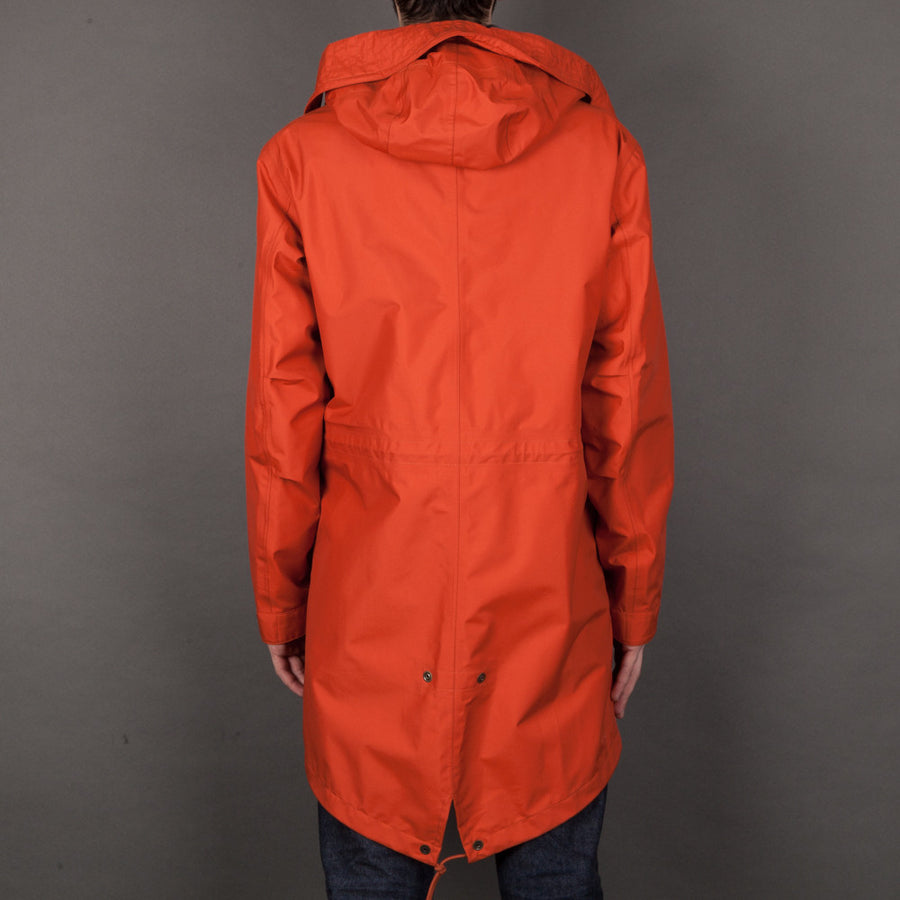 Ten C Parka Nastrato Orange