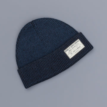 RRL Watch cap Midnight blue