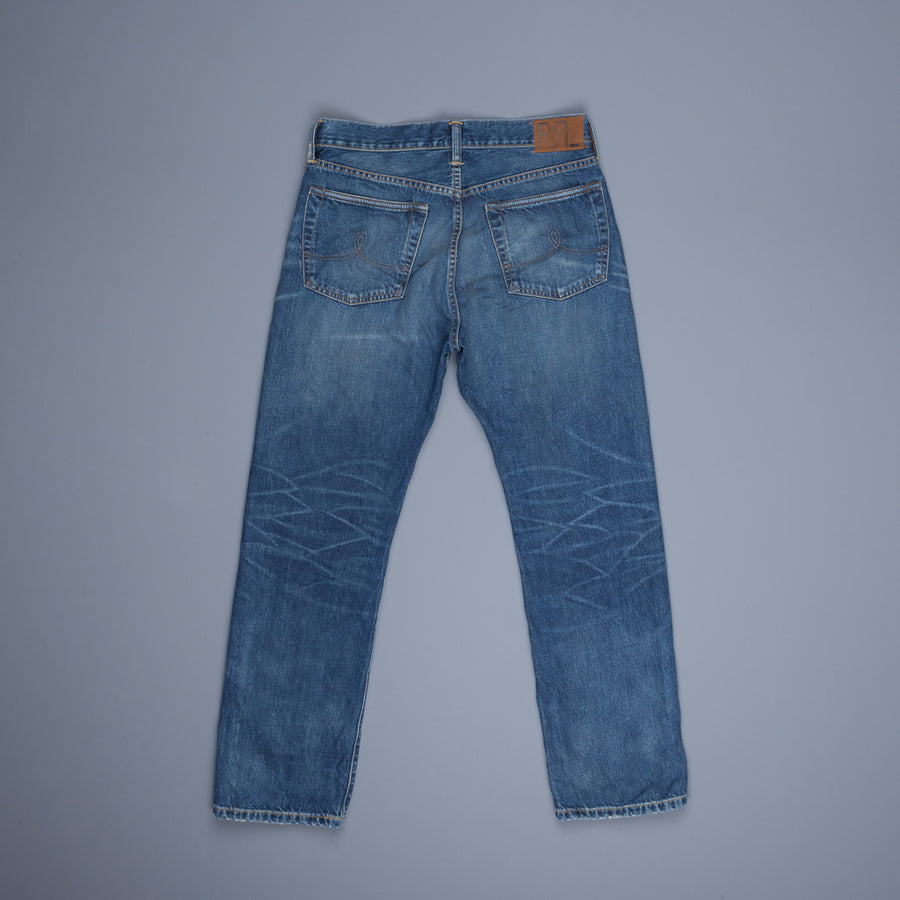 RRL Women's Boy Fit 5 pocket denims Austin wash