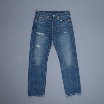 RRL Boy Fit 5 pocket denims Austin wash