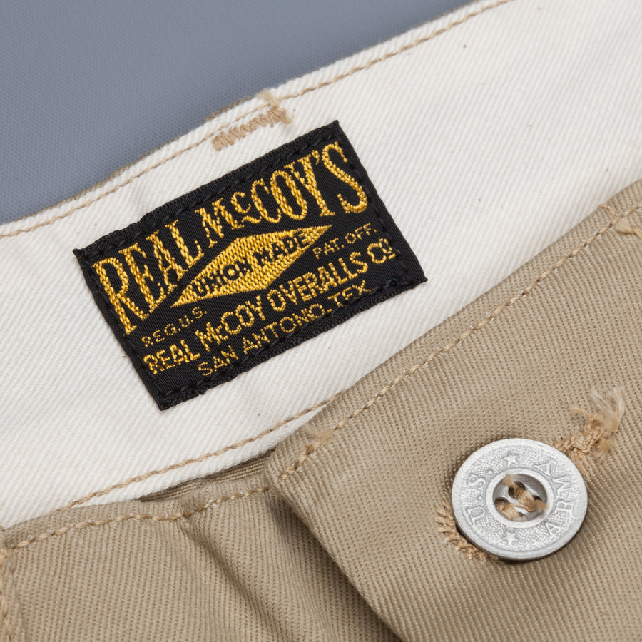 The Real McCoy's US Army Khaki Shorts