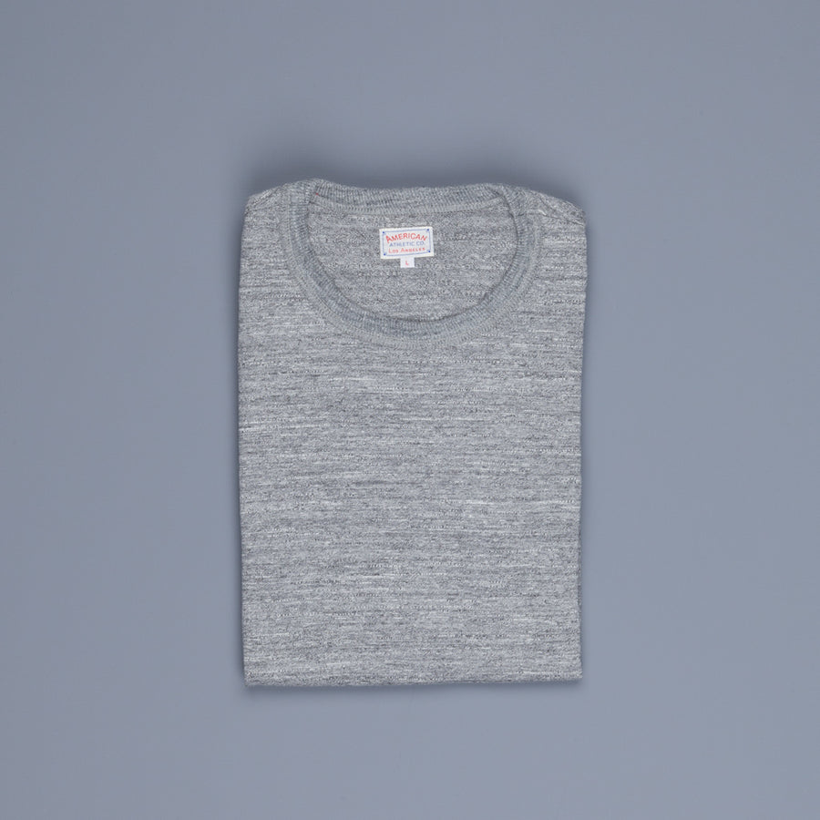 The Real McCoy's Athletic Loopwheel T-Shirt Gray