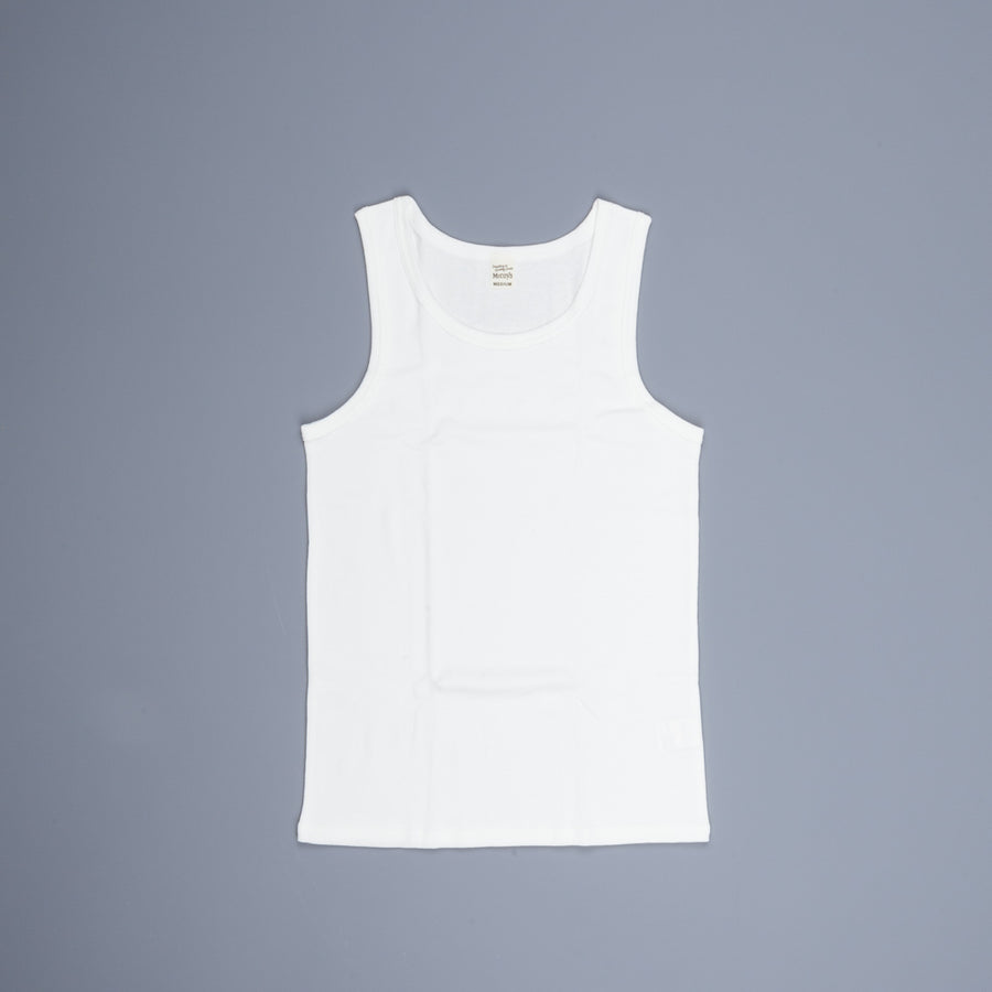 The Real McCoy's Two Pack Undershirts White