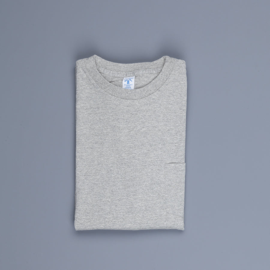 Velva Sheen Longsleeve Pocket Tee Heather Grey