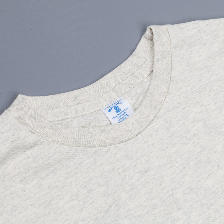 Velva Sheen Longsleeve Pocket T-Shirt Oatmeal
