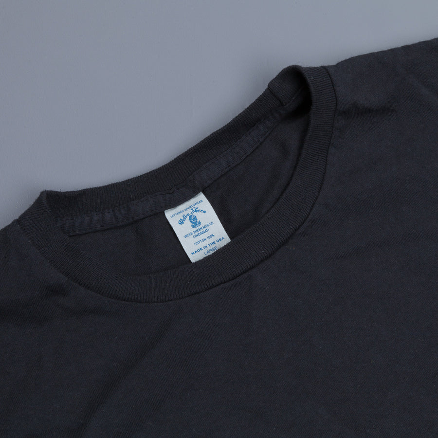 Velva Sheen Longsleeve Pocket T-Shirt Black