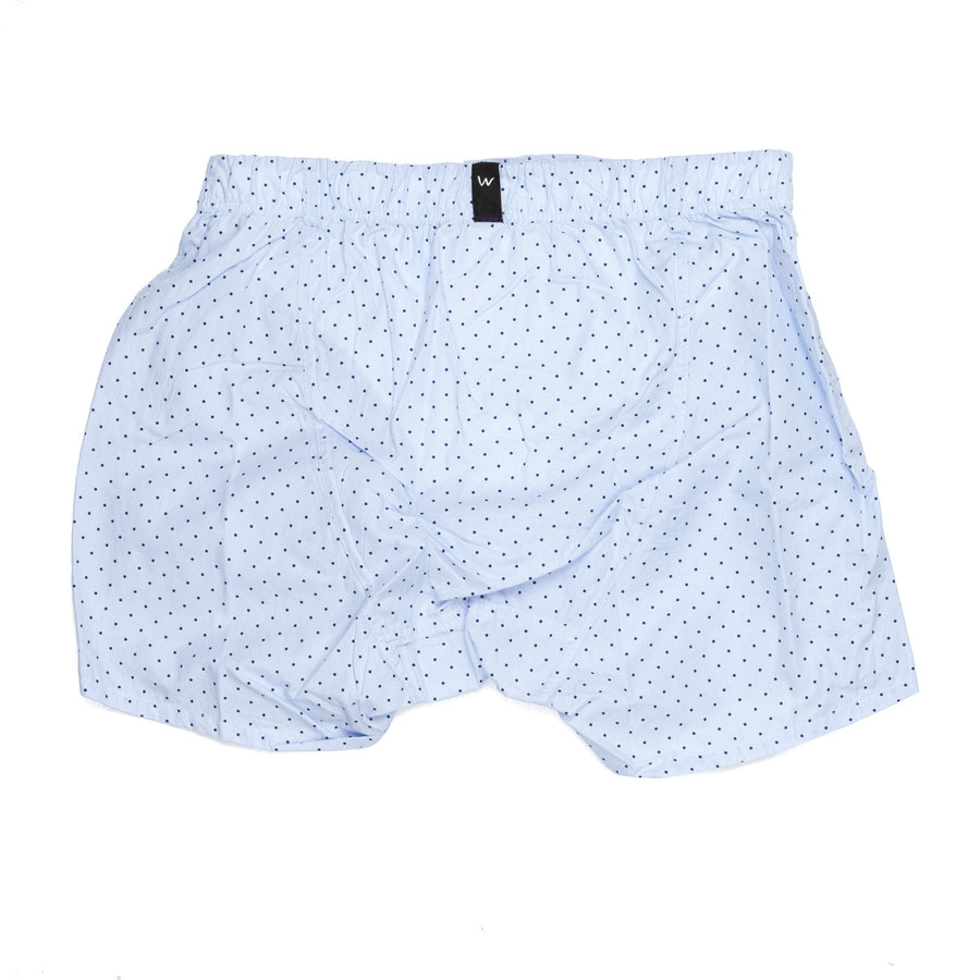 Wahts tailored Bennett boxer stripe blue dot