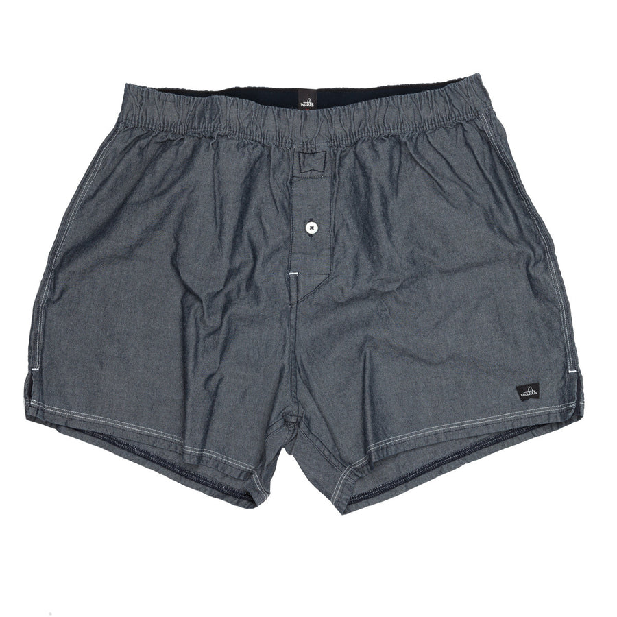Wahts Knight chambray blue boxer