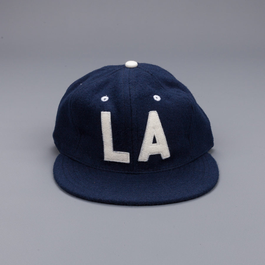 Ebbets field flannel Los Angeles 1954 strapback 6 panel cap Navy