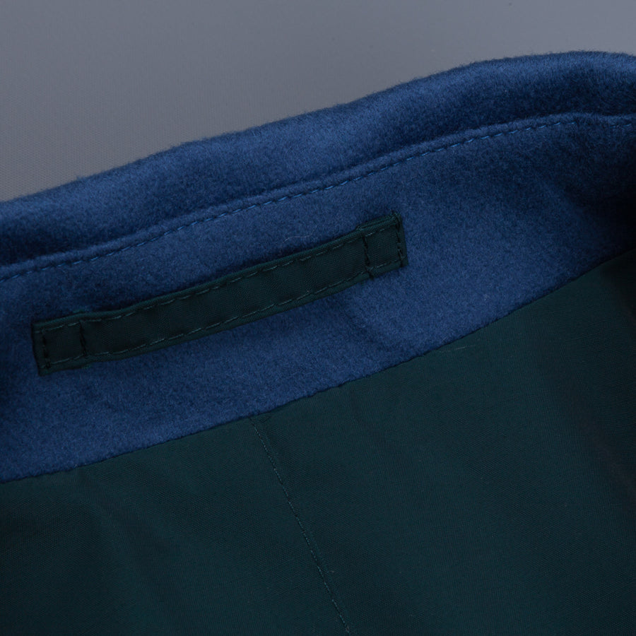 Kired Peak Reversible Coat Zaffiro Blu - Holly Verde