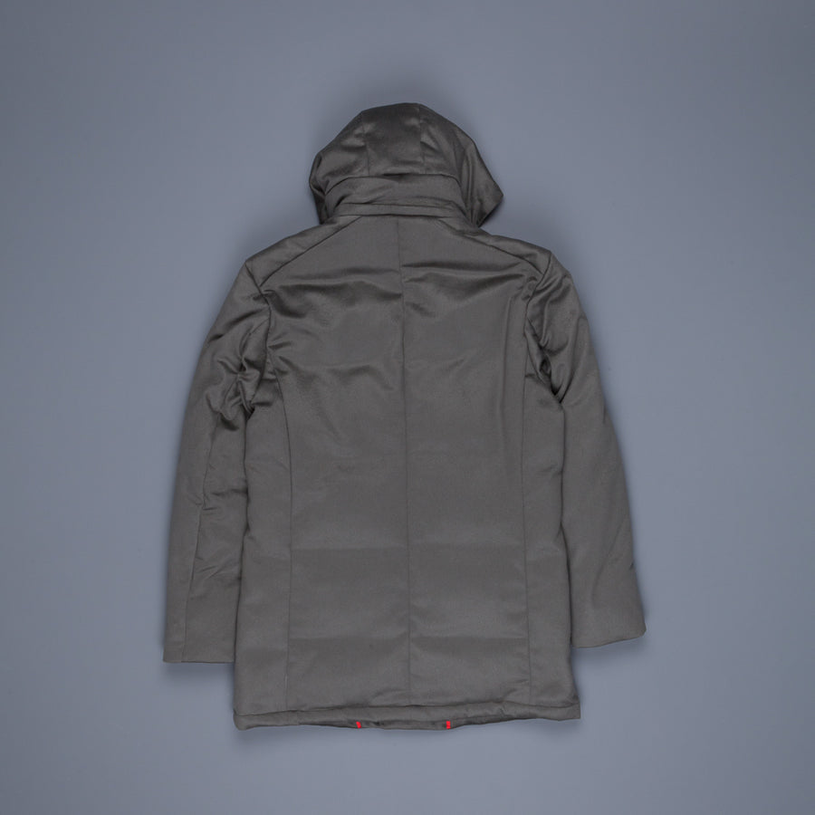 Kired Kang Cashmere Parka Grigio Ombre