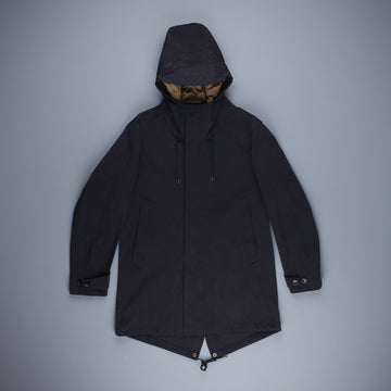 Ten C OJJ piece dyed Core Parka Navy