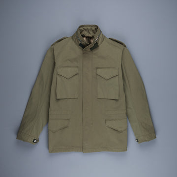 Ten C Field Jacket Garment dyed olive