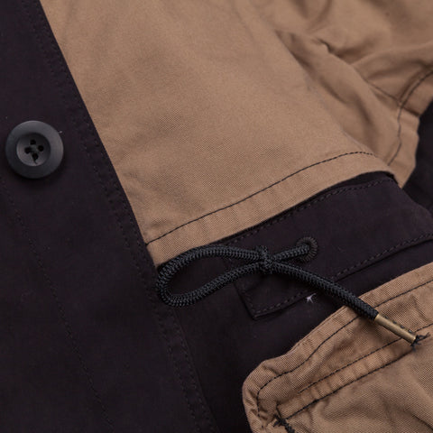 Ten C field jacket navy