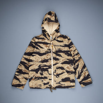 The Real McCoy's Tiger Camouflage Parka Gold tone