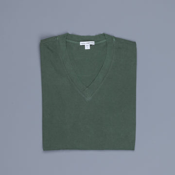 James Perse V neck tee Shamrock Pigment