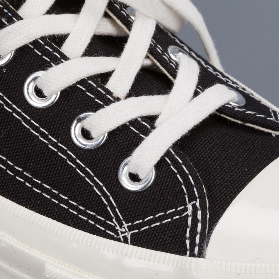 Comme des Garçons X Play Converse Chuck Taylor '70 low top in Black