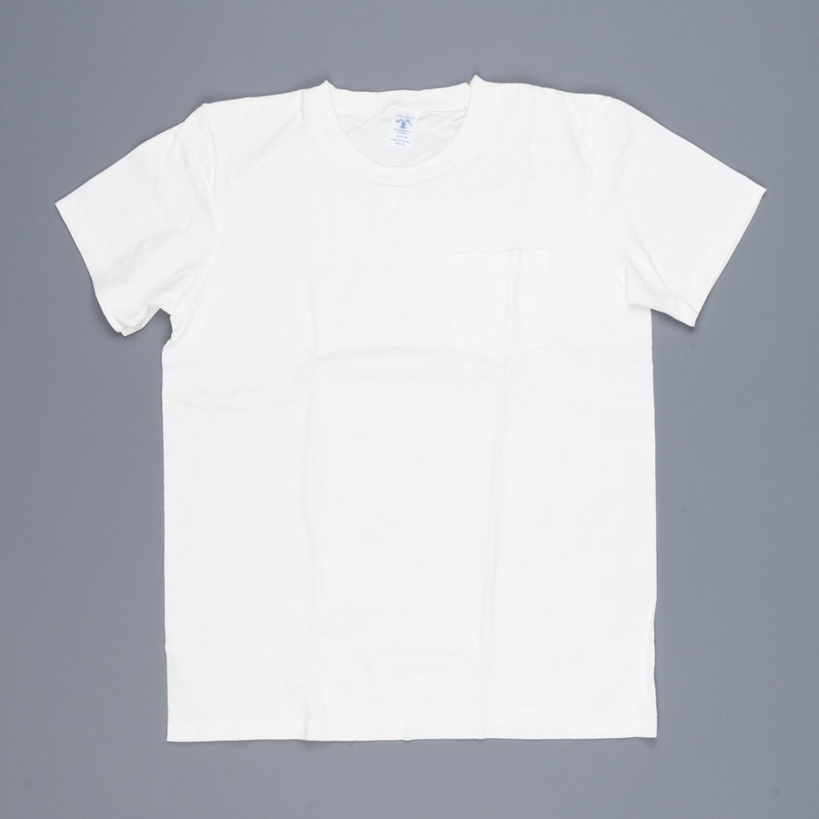 Velva Sheen 2 pack pocket tee  2 white