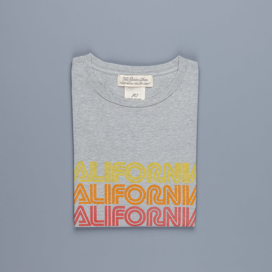 Remi Relief SP Finish T (CALIFORNIA) Heather Grey