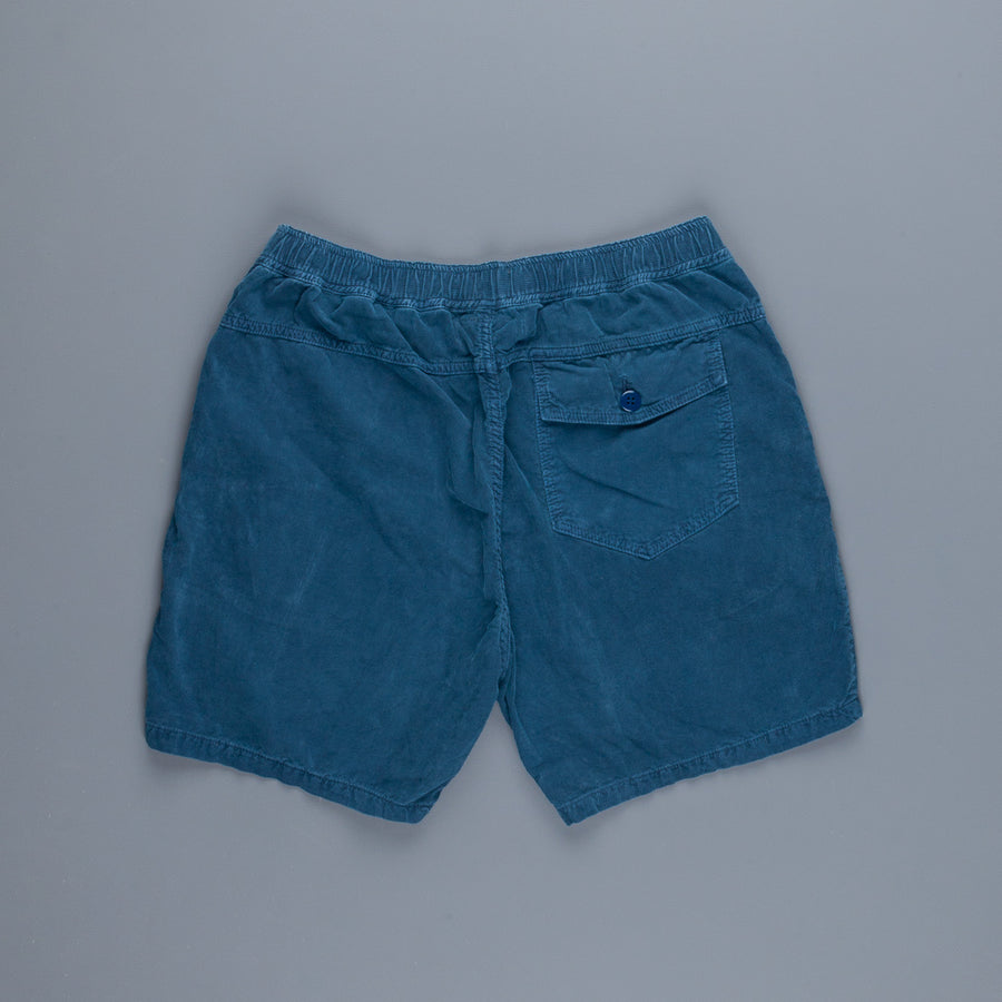 Remi Relief Light Summer Corduroy Easy Shorts Blue