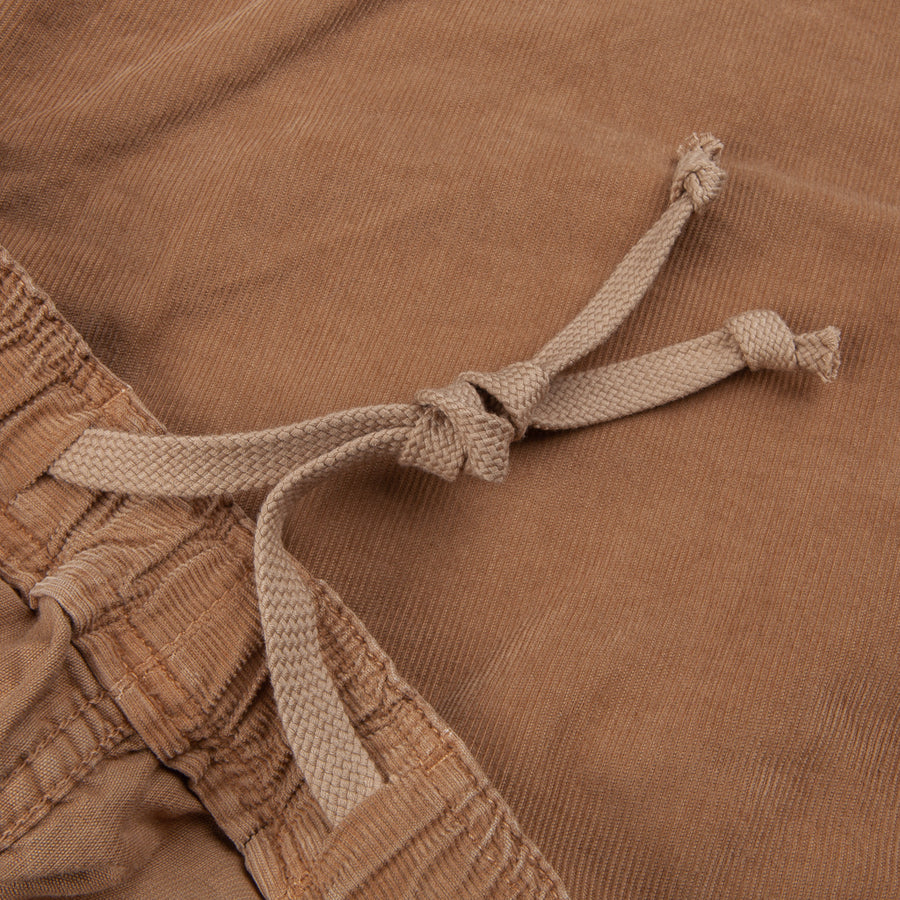 Remi Relief Light Summer Corduroy Easy Shorts Beige