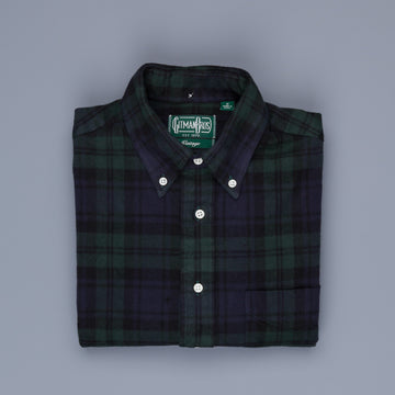 Gitman Vintage button down shirt Blackwatch flannel